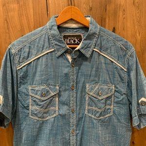 Men's short sleeve button down shirt from Buckle